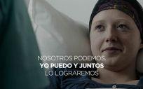 Foto de SATSE en apoyo a la campaña de la Organización Mundial de la Salud (OMS) de lucha contra el cáncer