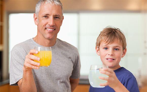 La hidratación es clave en la infancia