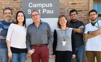 Los investigadores JL. Sánchez Quesada, Andrea Rivas Urbina, Antonio Pérez, Vicenta Llorente, David de Gonzalo, David Vilades