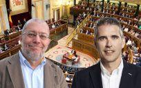Francisco Igea y Jorge Soler, portavoces de Sanidad de Ciudadanos en el Congreso y el Parlamento de Cataluña.