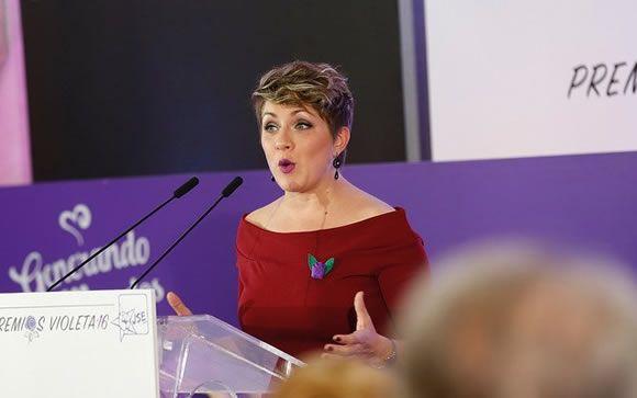Soraya Vega, responsable del Área de Igualdad y Movimientos Sociales de la Comisión Gestora del PSOE