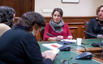 Reunión entre los colectivos de Salud en el Congreso de los Diputados