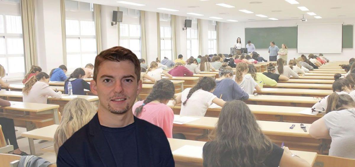 Alejandro Iñarra Navarro, presidente del Consejo Estatal de Estudiantes de Medicina