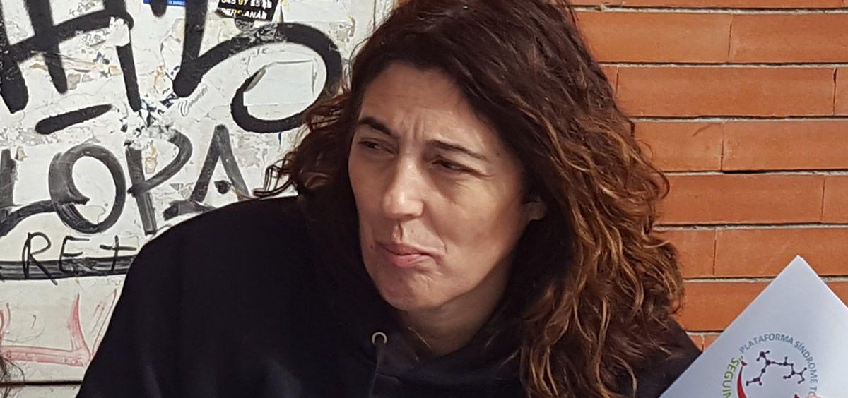 Carmen Cortes, portavoz de la Plataforma Síndrome Tóxico Seguimos Viviendo