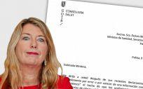 Patricia Gómez, consejera de Salud balear, responde a la ministra en una carta.