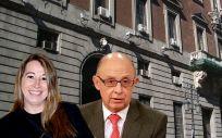 Elena Collado y Cristóbal Montoro, secretaria de Estado y ministro de Hacienda y Función Pública.