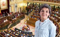 Amparo Botejara, nueva portavoz de Sanidad de Unidos Podemos en el Congreso.