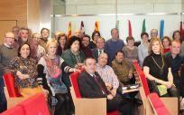Vocales provinciales de Atención Primaria Urbana de la OMC durante la asamblea