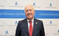 El presidente del Colegio General de Enfermería, Florentino Pérez Raya