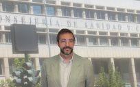 Asensio López Santiago, director Gerente del Servicio Murciano de Salud.
