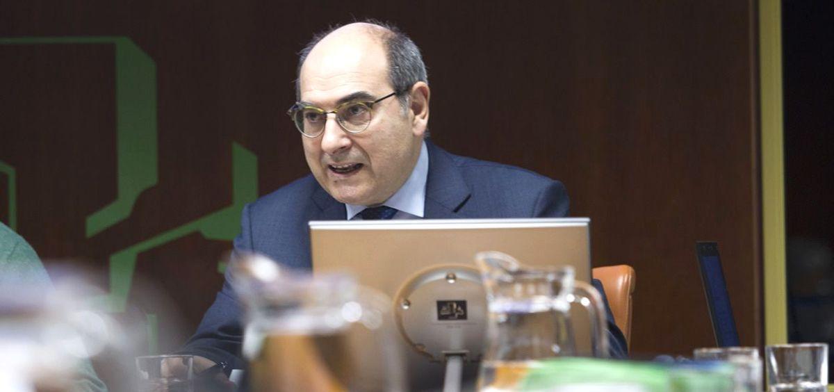Jon Darpón, exconsejero de Salud del País Vasco.