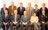 Reunión entre los representantes de las profesiones sanitarias y de las fuerzas y cuerpos de seguridad del Estado