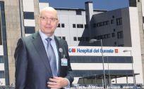 Carlos Sangregorio, gerente del Hospital del Sureste