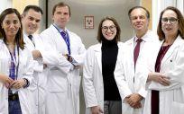 Valdebenito, Doctor Felipe Couñago, Doctor Javier Moradiellos, Doctora Ana Díaz, Doctora Andrés Varela y Doctora Elia del Cerro.