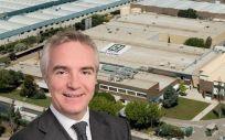 Ignasi Biosca, CEO de Reig Jofre. (Fotomontaje. ConSalud.es)