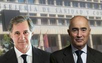 José Manuel Entrecanales Domecq, presidente de Acciona; y Rafael del Pino Calvo, presidente de Ferrovial