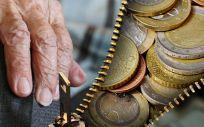 En España hay 2.182.486 de jubilados con pensiones por debajo de los 650 euros