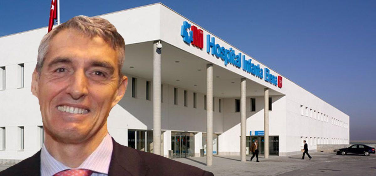 Juan Antonio Álvaro de la Parra, director gerente del Hospital Universitario Infanta Elena