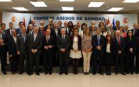 Dolors Montserrat preside la primera reunión del nuevo Consejo Asesor de Sanidad