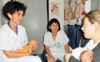 Cada vez es más frecuente el ingreso de bebés nacidos pre término en la Maternidad del Hospital Universitario de Getafe