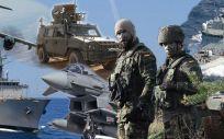 Imagen promocional de las Fuerzas Armadas españolas