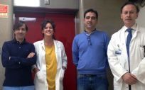 Equipo de investigadores que lidera el doctor Blanco Colio