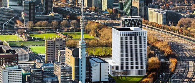 Así será el nuevo edificio que acogerá a la EMA en Ámsterdam