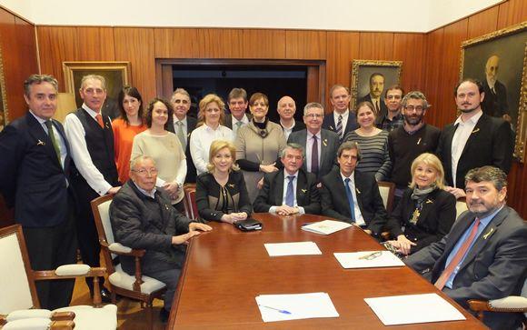 La nueva junta directiva del Colegio de Médicos de Madrid toma posesión