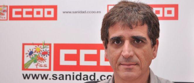 Antonio Cabrera, secretario general de la Federación de Sanidad y Sectores Sociosanitarios de CC.OO.