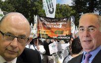Cristóbal Montoro y Francisco Miralles