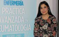 Laura Cano, coordinadora de cuidados del Servicio de Reumatología del Hospital Regional Universitario de Málaga