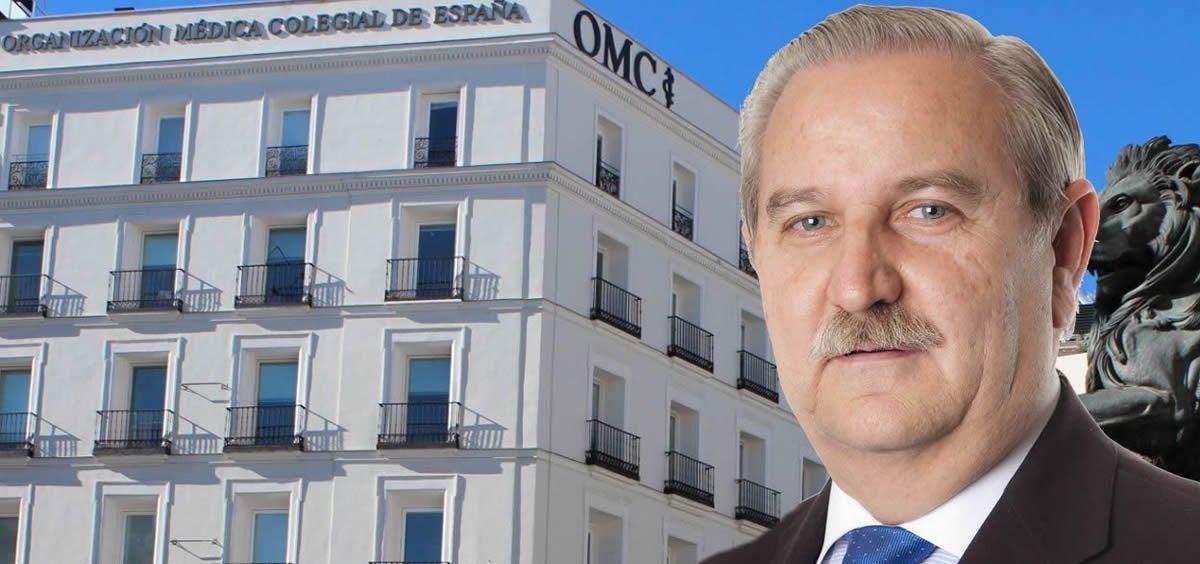 El doctor Serafín Romero, presidente de la Organización Médica Colegial (OMC)