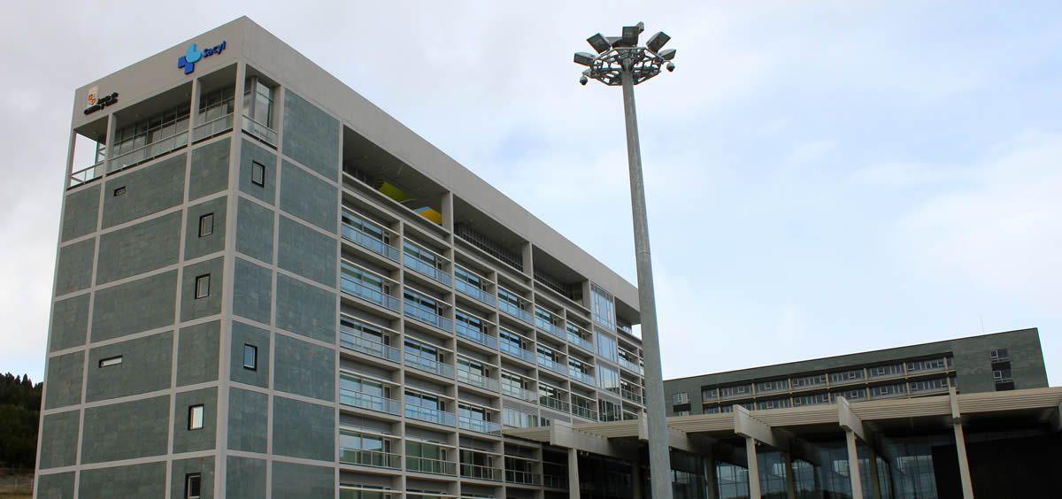Fachada del Hospital Universitario de Burgos