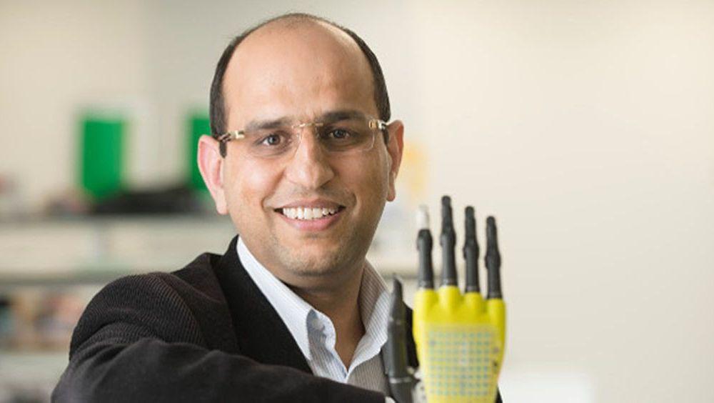 La flexibilidad del sensor permite adaptarse a los movimientos naturales del cuerpo