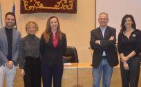 La directora provincial de Sanidad en Toledo, María del Prado Carretero, ha participado en la V Jornada de Enfermería San Juan de Dios