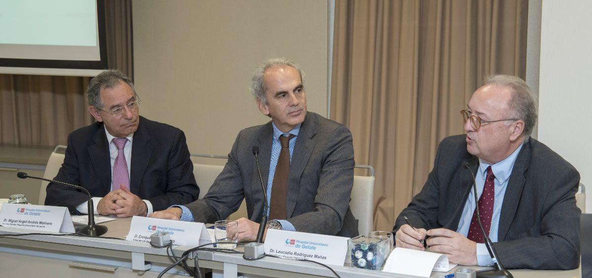 El consejero de Sanidad de la Comunidad de Madrid, Enrique Ruiz Escudero, ha inaugurado la reunión de cierre de este proyecto, en la que se han presentado los resultados preliminares del análisis