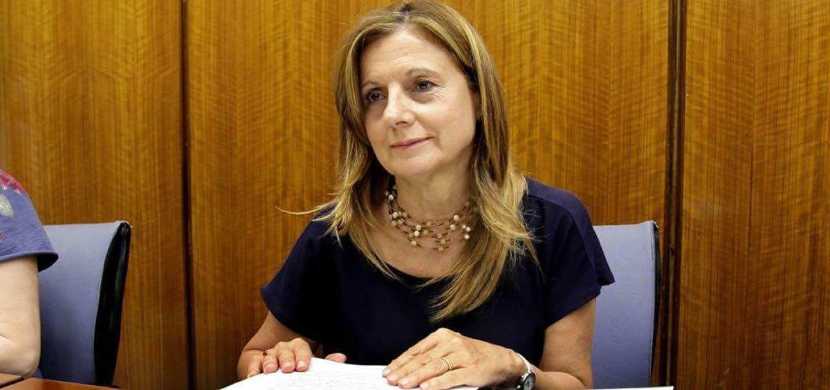 Marina Álvarez, consejera de Salud de Andalucía.