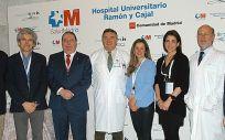 Ponentes y organizadores del curso sobre tricología celebrado en el Hospital Ramón y Cajal