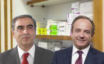 José Martínez Olmos, portavoz de Sanidad del PSOE en el Senado, y José Javier Castrodeza, secretario general de Sanidad.