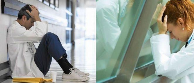 Del total de agresiones a médicos en 2017, el 52% fueron hacia mujeres y el 48% hacia hombres