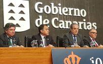 Acto conmemorativo del centenario del Colegio Oficial de Farmacéuticos de Santa Cruz de Tenerife