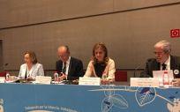 La consejera de Salud de Andalucía, Marina Álvarez, ha acudido a la inauguración de las XXII Jornadas Asociación Andaluza de Pediatría de Atención Primaria, que se celebran en Málaga
