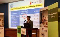 El consejero de Sanidad de Murcia, Manuel Villegas