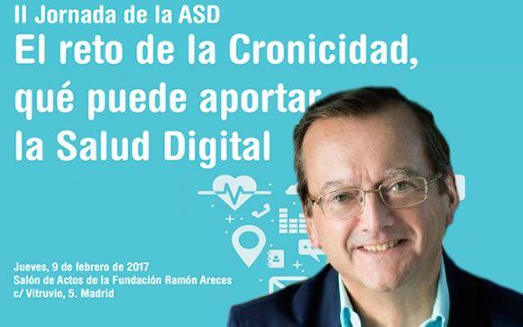 Jaime del Barrio, presidente de la Asociación Salud Digital
