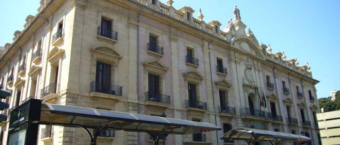 Sede del Tribunal Superior de Justicia de la Comunidad Valenciana.