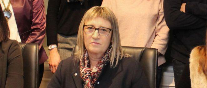 Arantxa Osinaga, presidenta del Colegio de Enfermería de Navarra