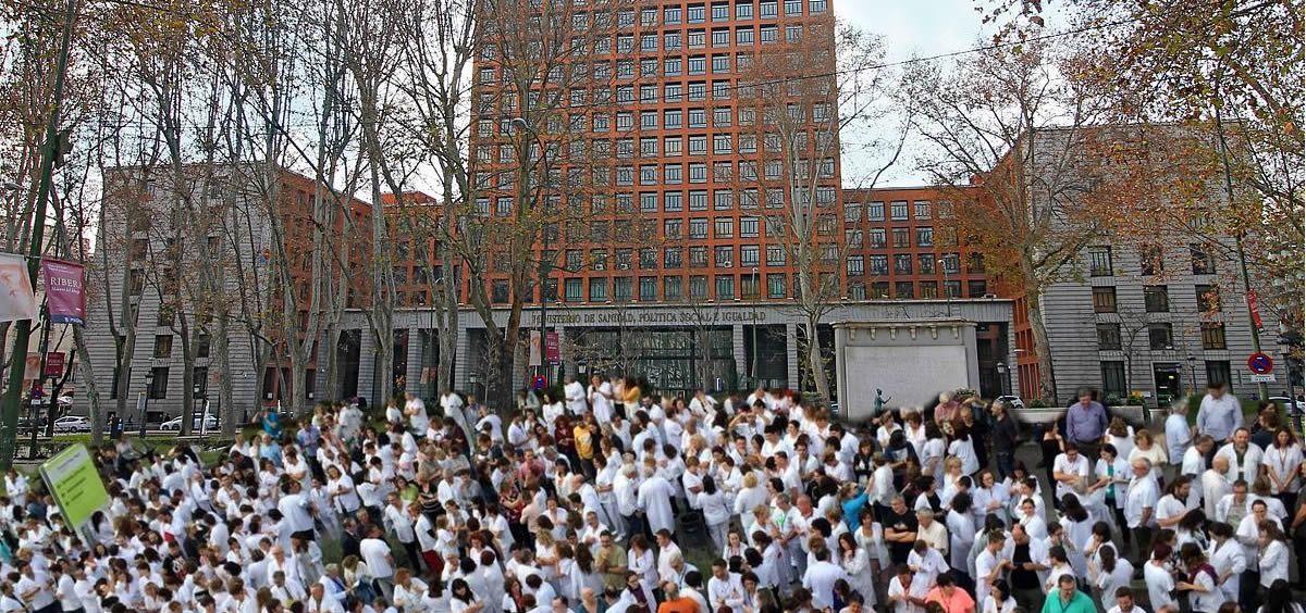 Este miércoles los médicos de toda España se manifestarán ante el Ministerio de Sanidad