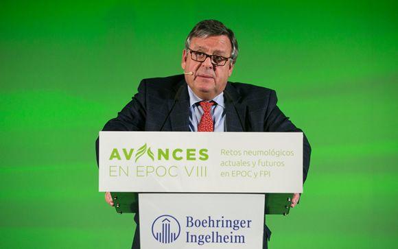El doctor Julio Ancochea, jefe de Neumología del Hospital Universitario de La Princesa de Madrid.