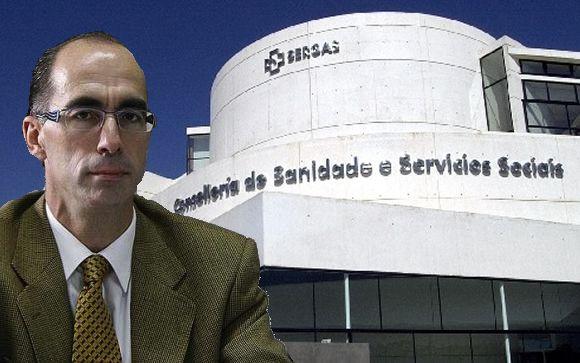 El consejero de Sanidad de Galicia, Jesús Vázquez Almuiña.