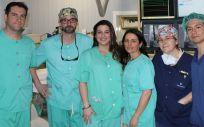 El Hospital La Luz implanta con éxito un cierre percutáneo de orejuela izquierda para prevenir el ictus